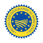 EU logo 'protected geographical indication' (PGI)